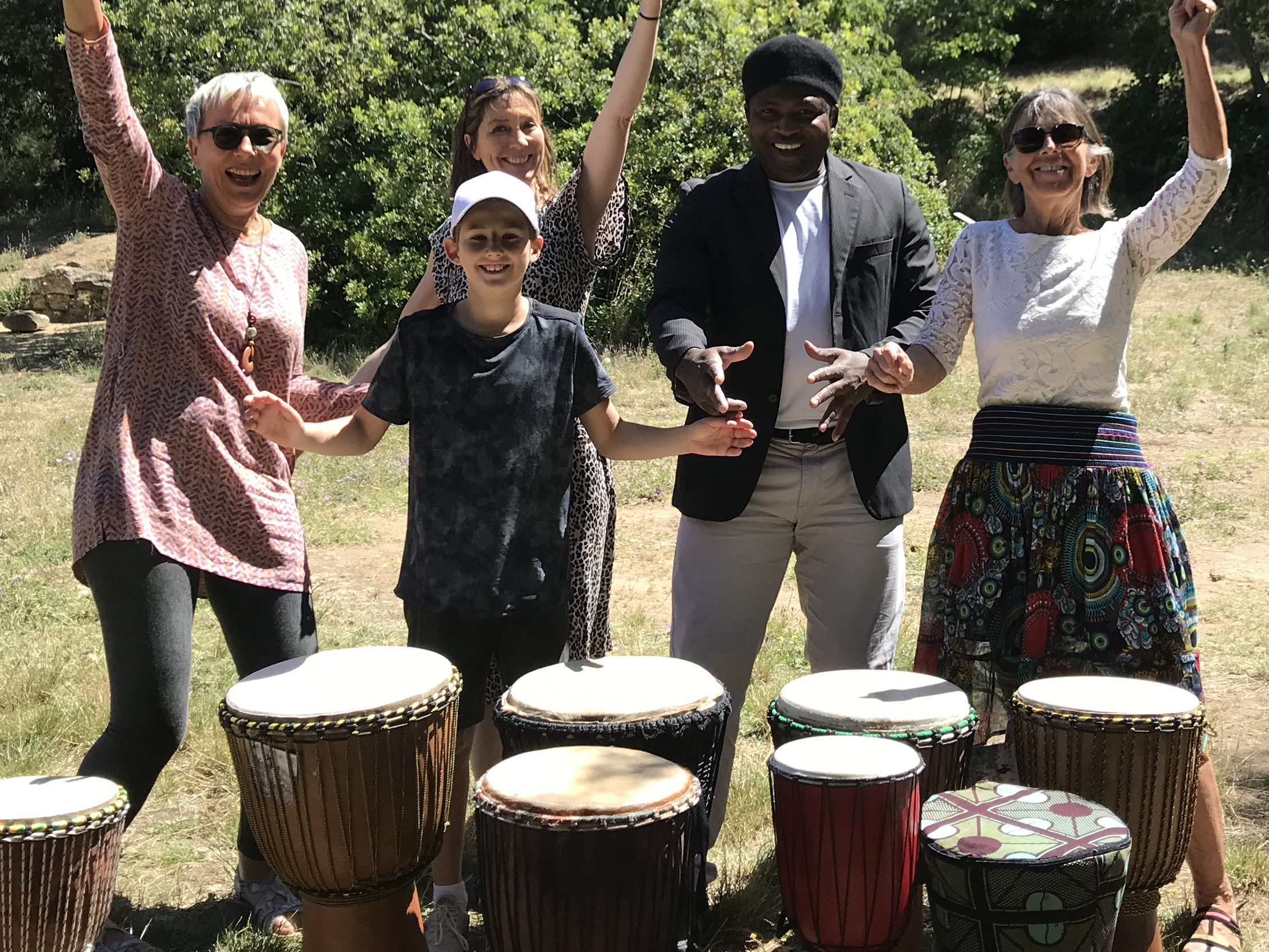 Oct 2020 : Cours de percussion